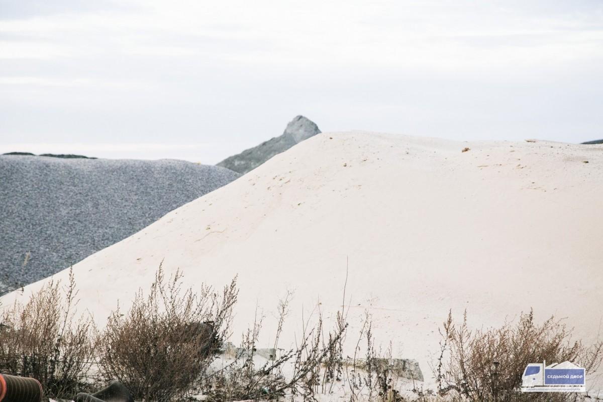 Песок речной средний