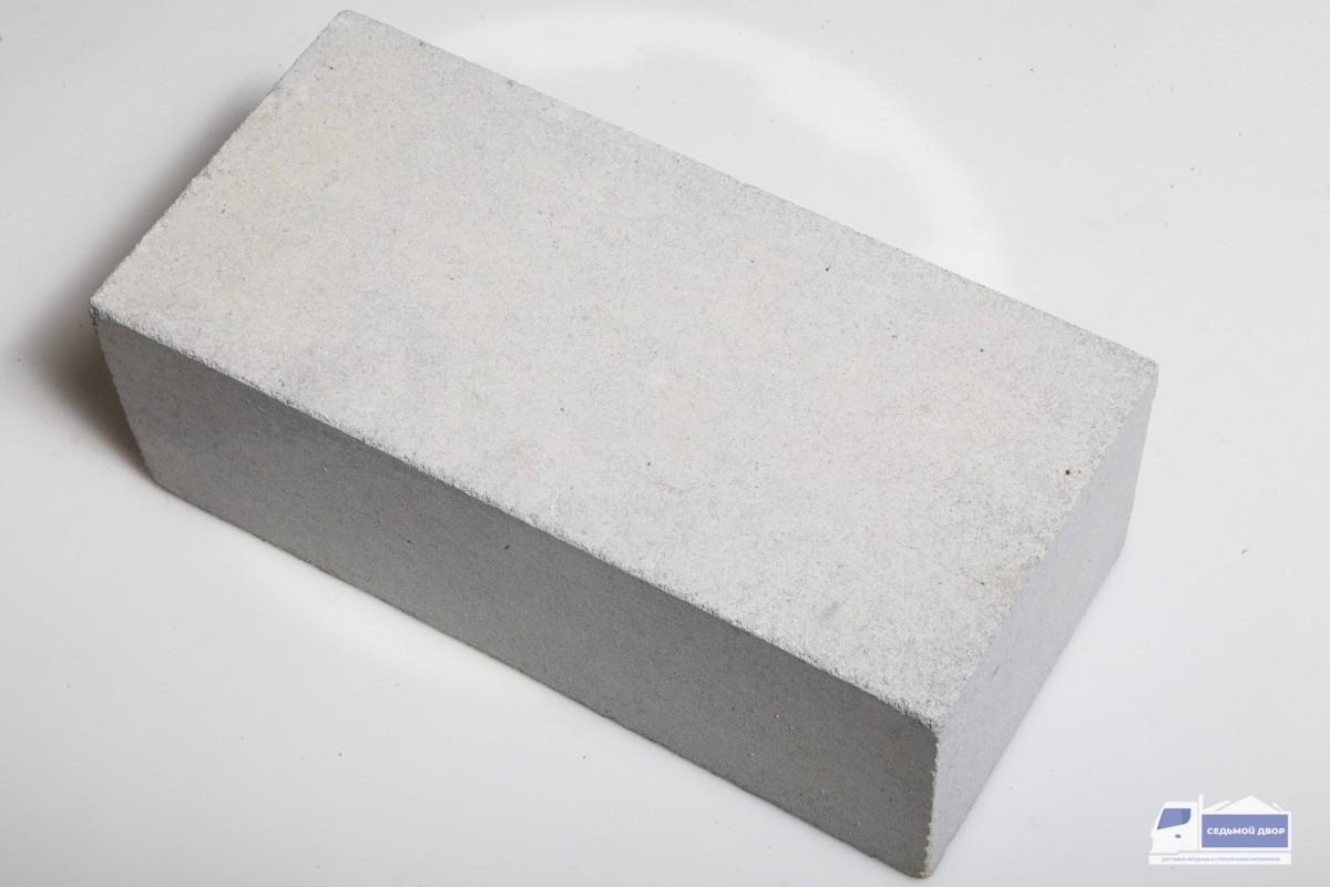 Кирпич силикатный белый рядовой