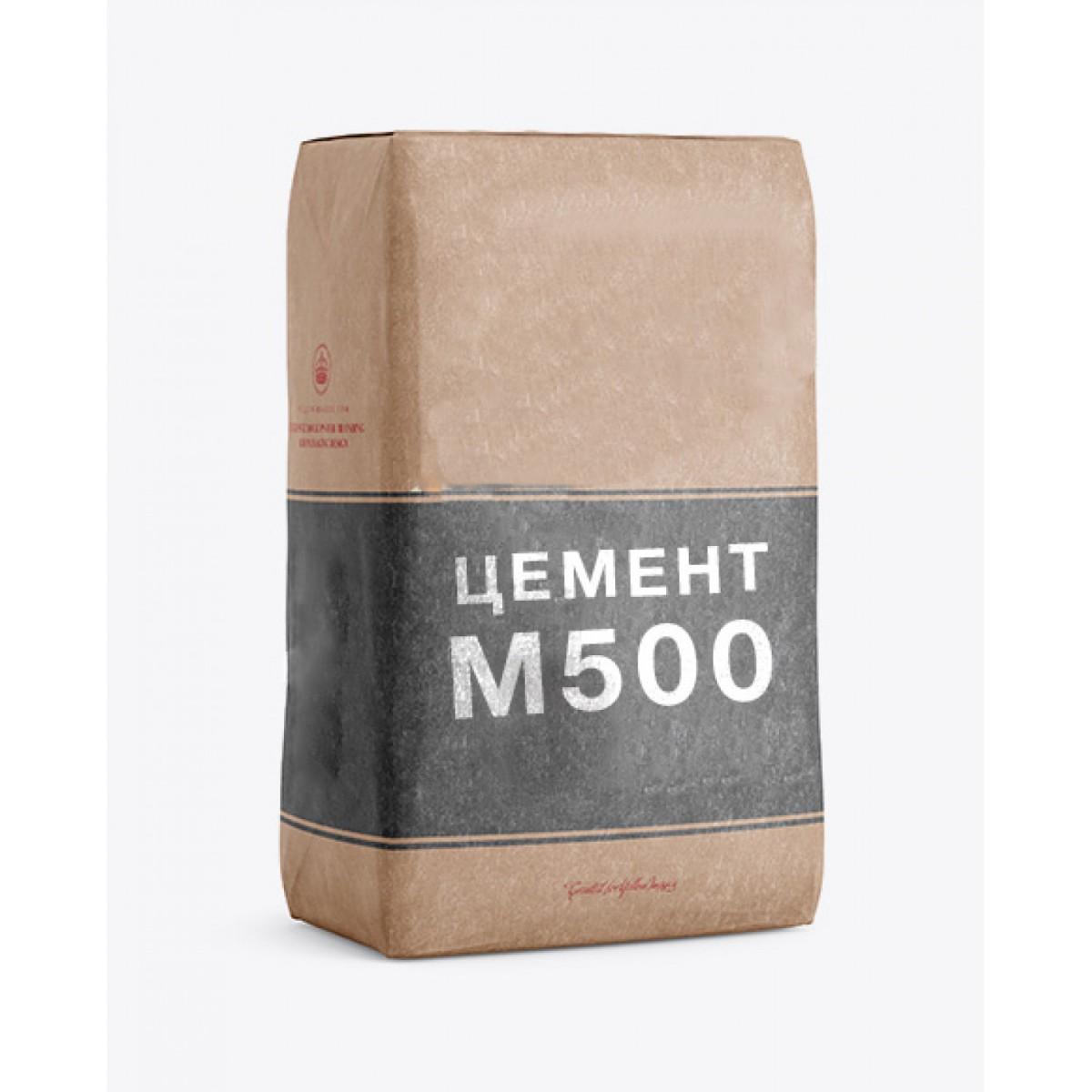 Цемент м-500 в мешках